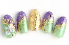 Perfect colors for spring! Nail Patterns, Art Nails, Mani Pedi, Pattern Design, Kimono, My Style, Spring, Colors, Makeup