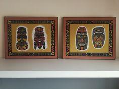 Cuadros fabricados con nuestras telas africanas.   Más modelos en web!! #decor #decoracion #cuadros #interiores #home #casa #decohome #homedeco Frame, Home Decor, Models, Home, African Fabric, African, Fabrics, Interiors, Homemade Home Decor