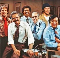 Barney Miller - cast from the 70s, retro tv, vintage tv shows, comedies of the 70s