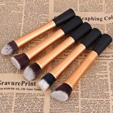 #yoshop.com - #yoshop 5PCS Professional Soft Cosmetic Face Brush Finishing Powder Brush Cylinder Brush Sets - AdoreWe.com