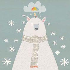 Polar Bear- Christmas Card - Southwood stores