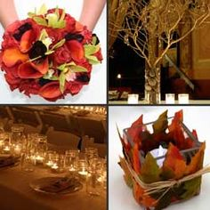 Fall Wedding Decorations Trends