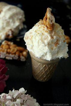 Greek Yogurt, Ice Cream, Desserts, Food, No Churn Ice Cream, Tailgate Desserts, Deserts, Icecream Craft, Essen