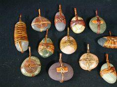 Penjolls amb pedres