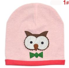 New! Baby Kids Autumn Winter Warm Cotton Beanie Hat Toddler Infant Girls Boys Caps Cute Baby Cartoon bear ear Beanies 1pc H760