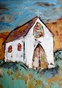 DROOLING over Deann Hebert's church paintings. I have a perfect spot on my dining room wall. (*sigh*)