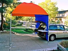 tailgate tent and table. brilliant. & Bring your tailgating setup game at Western Illinois University ...