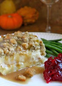 Christina's Cucina: Genius Potato, Turkey and Stuffing Layered Leftovers: Better than Thanksgiving Day's Dinner!