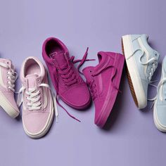 Off The Wall - The latest selection of Women's Vans Old Skool has arrived just in time for SS'16.