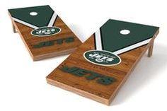 New York Jets Single Cornhole Board - Uniform