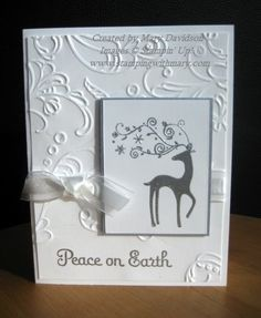 Dasher Class card by Mary N. Davidson November 27, 2011 Elegant Lines EF: