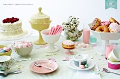 """Rosanna & Baci Milano - Sugar high tea: """"eating together is truly a giving and loving experience."""""""
