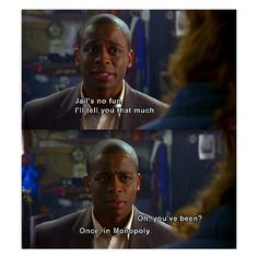 Once, in Monopoly. Gus. Psych.