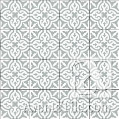 "Traditional Neiba B 8"" x 8"" Cement Tile 