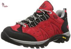 Bruetting Mount Bona Low, Chaussures de Randonnée Basses femme, Rouge (Rot), 40 EU - Chaussures brtting (*Partner-Link)