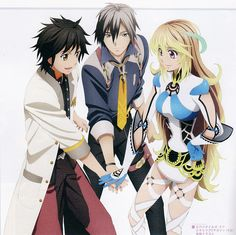 My three favorite character of Tales of Xillia
