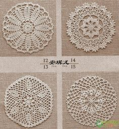 Crochet Doilies, Crochet Projects, Dream Catcher, Diy And Crafts, Crochet Patterns, My Favorite Things, Rugs, Knitting, Design