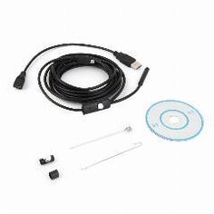 [ 42% OFF ] 3.5M Waterproof Endoscope Mini Hd Camera Snake Tube 7Mm Lens Rigid Cable Usb Inspection With Led Borescopefor Android Phone Pc