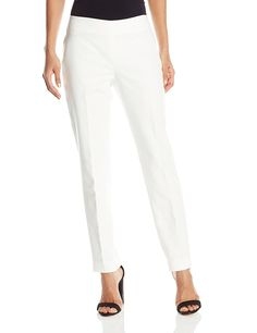 a3e06357454 Vince Camuto Women s Side Zip Skinny Pant at Amazon Women s Clothing store