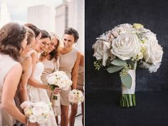 Real wedding: Anna + Ben | Brooklyn Bride - Modern Wedding Blog
