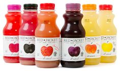 Tastier picture for the red jacket juice. Try the very yellow one!
