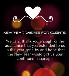Holiday and new year greetings 2016 happy new year 2018 wishes 35 happy new year 2018 wishes for clients and customers m4hsunfo