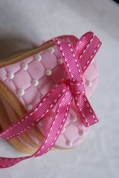 Quilted heart cookies