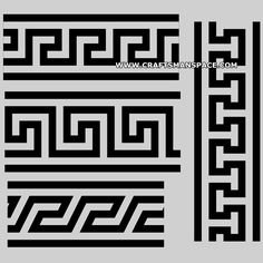 Ancient Greek key patterns 2