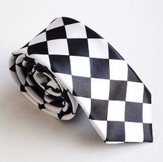 $2.99 TopTie Unisex Fashion Black & White Checkerboard Skinny 2 Inch Necktie  From TopTie   Get it here: http://astore.amazon.com/ffiilliipp-20/detail/B003ZH1UJK/176-4294533-3219668