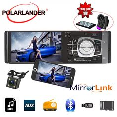 Mirror Link, Usb, Bluetooth Remote, 4 Channel, Digital Media, Android, Electronics, Free Shipping