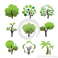 tree vectors illustrator - Google Search