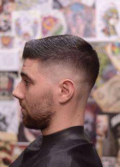 Haircut> Low razor fade