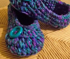 Slippers.....in purples and blues.....YOUR size $12