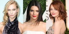 Warm blonde, solid brunette and earthy red. .........a. Look at solid hair colors for Spring 2015 /harpersbazzar