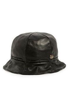 fb7990cae21 GUCCI Designer Leather Bucket Hat Gucci Designer