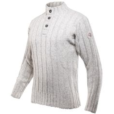 Amundsen Button Neck Men, Pánská outdoor bunda Devold | Hudy.cz