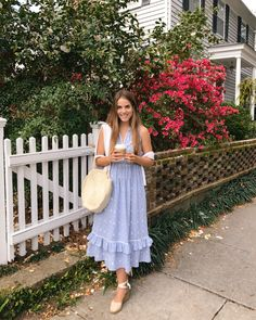 Outfit Details: Ulla Johnson Dress (up to off, last seen here), J.Crew Sweater, Castaner Wedges (up to off,… Modest Dresses, Modest Outfits, Modest Fashion, Spring Dresses, Spring Outfits, Girl Meets Glam, Ulla Johnson Dress, Flatform, Daily Look