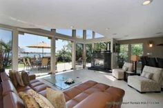 San Diego, CA: Over the top! This three story gated San Diego beach front estate rental designed with the finest of details and a passion for the extraordinary. Well... Vacation Rental