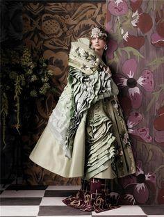 Styling by Grace Coddington: Vogue Magazine