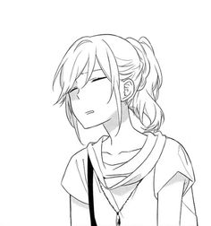 Horimiya Has to be one of my all time favorites oo Manga Girl, Manga Anime, Art Anime, Dibujos Anime Chibi, Wie Zeichnet Man Manga, Hirunaka No Ryuusei, Anime Expressions, Horimiya, Anime Poses