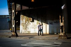 Love the shadows under the tracks from this West Loop session