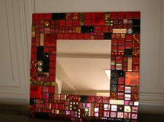 Espejo mosaico por melandyne en Etsy