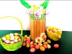 TUTO/DIY panier de Pâques avec 1 rouleau de papier toilette!!!!!!