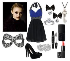 """""""Jane Volturi"""" by libraxoxo ❤ liked on Polyvore featuring Little Mistress, H&M, NARS Cosmetics, Rival, Cullen, Miss Selfridge and Nina"""