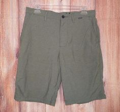 Hurley with Nike Dri Fit Men's Casual Board Shorts Green Size 30 #6 #Hurley #BoardSurf