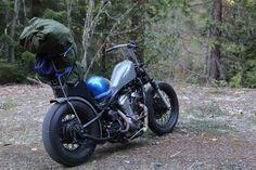 Honda Shadow Bobber, Honda Bobber, Honda Motorcycles, Custom Motorcycles, Bobber Kit, Bobber Chopper, Motorcycle Camping, Bobber Motorcycle, Rat Rod Girls