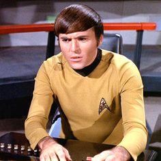 TOS Starfleet Officer Duty Uniform Male Shirt