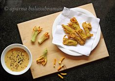 My Diverse Kitchen: Saying It With Flowers: Remembering Barbara, And Indian Style Pumpkin Blossom Fritters Pumpkin Carving Tips, Pumpkin Flower, Lentil Curry, Flower Quotes, Edible Flowers, Fritters, Wok, Food Inspiration, Vegetarian Recipes