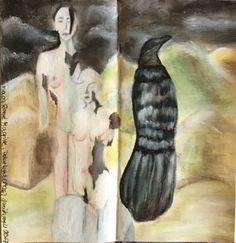 René Magritte steht für eine Letter-Journal-Runde für mich, Daniela Rogall. In dieser Runde sind wir 8 Teilnehmer, so gibt es auch 8 Beiträge. No. 2