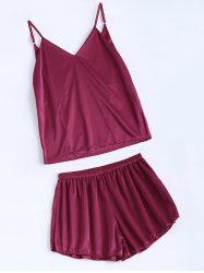 SHARE & Get it FREE   Cami Fitting Tank Top and String Shorts SleepwearFor Fashion Lovers only:80,000+ Items • New Arrivals Daily • Affordable Casual to Chic for Every Occasion Join Sammydress: Get YOUR $50 NOW!